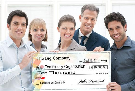 big checks for presentations, Presentation templates