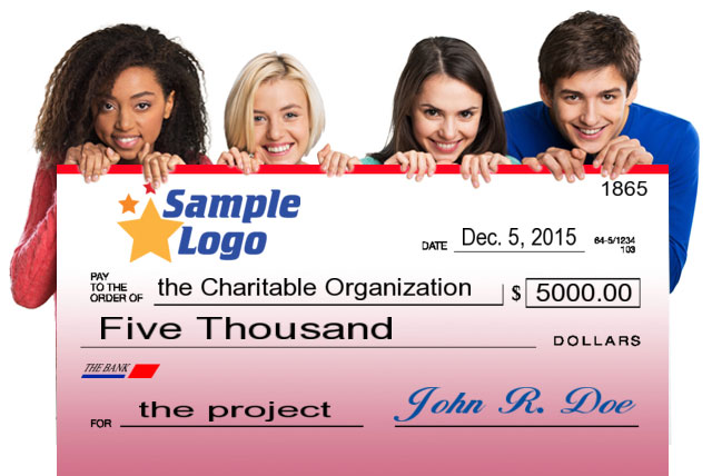 big checks for presentations, Powerpoint templates
