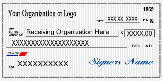 Big Checks For Presentations