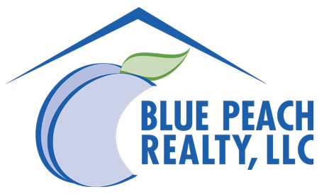 blue peach realty logo
