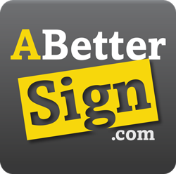 A better sign logo image