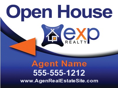 Exp Realty Signs Real Estate Sign Riders A Better Sign