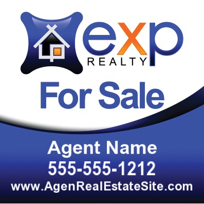 exp agent sale sign 24x24