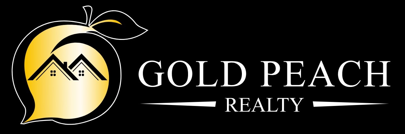 gold peach realty logo
