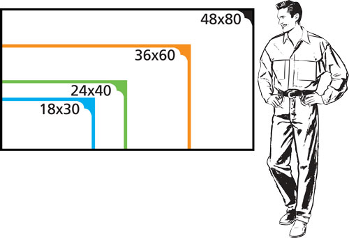Banner Size Chart