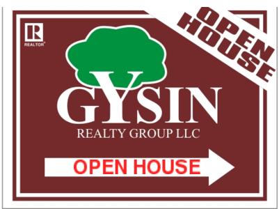 gysin directional sign 24x18