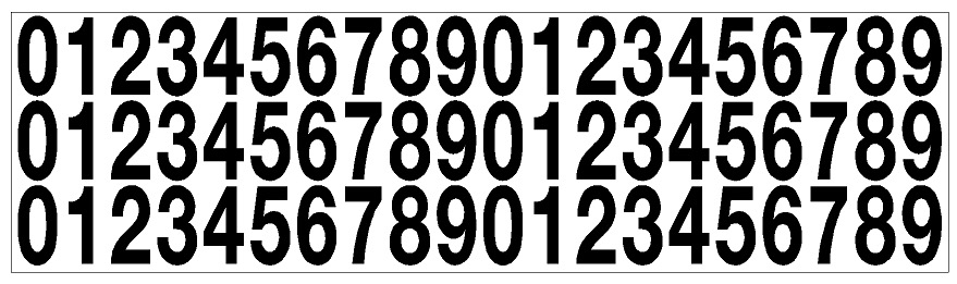 vinyl number kit image