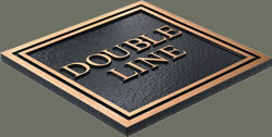 double line edge sample
