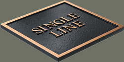 single line edge sample