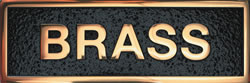 polished brass pic