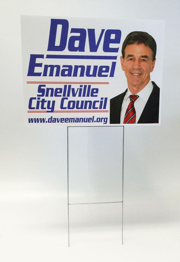 political sign image