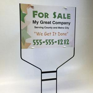 yard sign