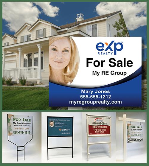 real estate sign image