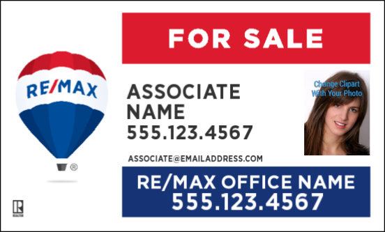 Remax Signs Remax Yard Signs A Better Sign