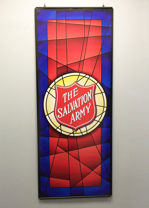 salvation army shield mosaic image