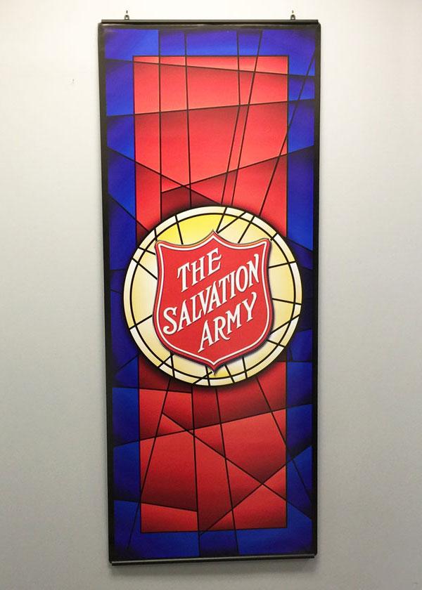 salvation army shield mosaic image