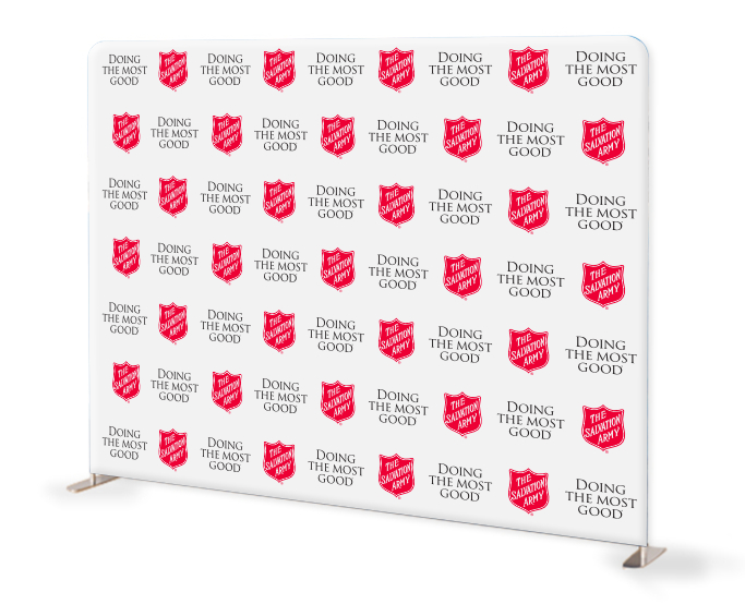salvation army step and repeat backdrop 2 mage