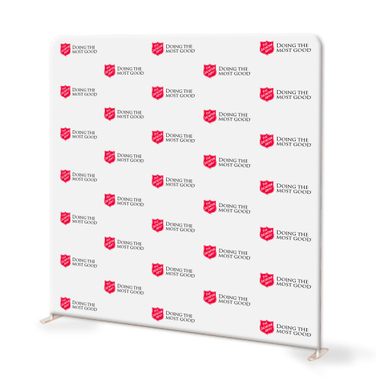 salvation army step and repeat backdrop image