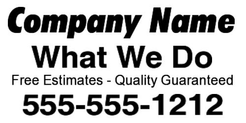 Buy Vinyl Banners | Custom Banners Online | A Better Sign
