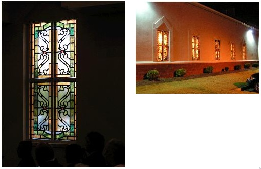 faux stained glass image